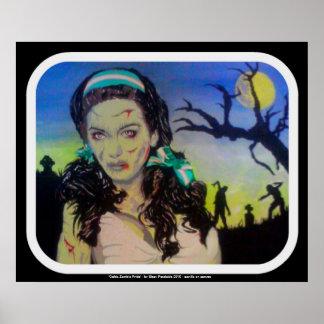 「ケルト族のゾンビのプライド」ポスタープリント ポスター