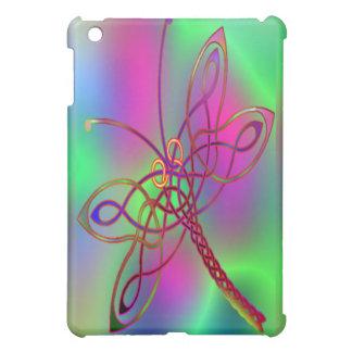 ケルト族のトンボの暗闇 iPad MINIケース