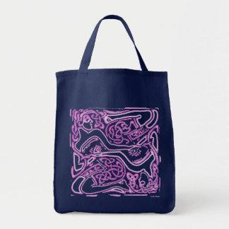 ケルト族のピンクレディーの食料雑貨のトートバック トートバッグ