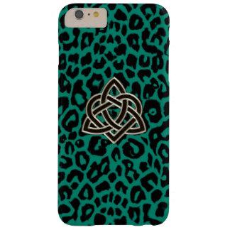 ケルト族の三位一体のハートのアイルランドのヒョウのiPhone6ケース Barely There iPhone 6 Plus ケース