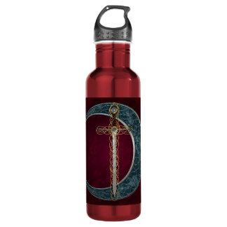 ケルト族の剣および月 ウォーターボトル