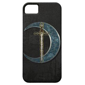ケルト族の月および剣 iPhone SE/5/5s ケース