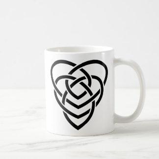ケルト族の母性愛の結び目 コーヒーマグカップ