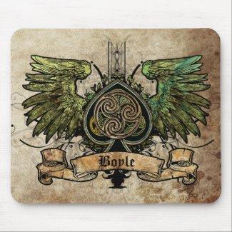 ケルト族の結び目のアイルランドのアイルランドの入れ墨都市Mousepad mousepad