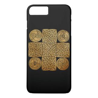 ケルト族の結び糸細工の十字 iPhone 8 PLUS/7 PLUSケース