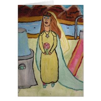 ケルト族の花嫁のnotecard カード