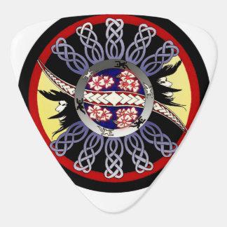 ケルト族の花 ギターピック