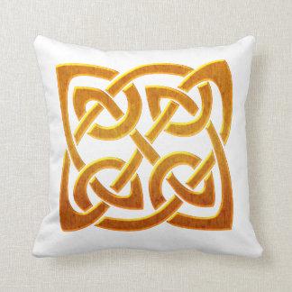 ケルト族の金D2アイルランドのケルト族のデザイン クッション
