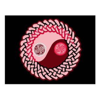 ケルト族の陰陽4 ポストカード