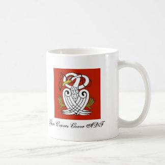 ケルト族クレーン コーヒーマグカップ