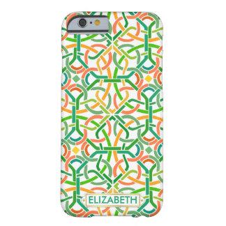ケルト結び目模様のアイルランドのブレードのBasketweaveのモダンのカスタム Barely There iPhone 6 ケース