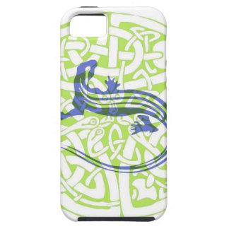 ケルト結び目模様のトカゲの記号 iPhone SE/5/5s ケース