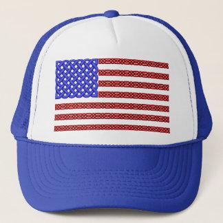 ケルト結び目模様の旗の帽子 キャップ