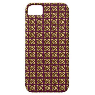 ケルト結び目模様パターンiPhone5場合 iPhone SE/5/5s ケース