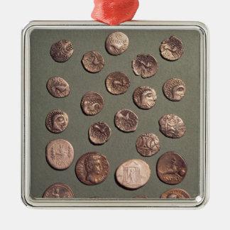 ケルト語選択および見つけられるローマの硬貨 メタルオーナメント