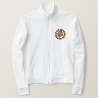 ケルト語Gryphon 刺繍入りジャケット