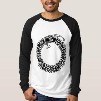 ケルト語Ouroboros Tシャツ