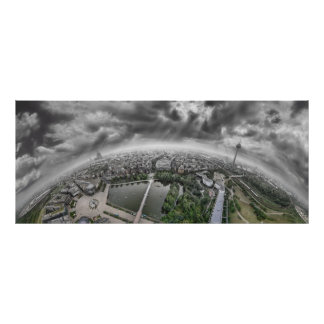 ケルンのパノラマ- 360度! ポスター