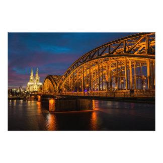ケルン橋 フォトプリント