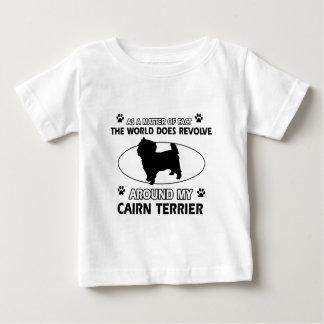 ケルン犬のデザイン ベビーTシャツ
