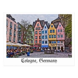ケルン、ドイツからの郵便はがき ポストカード