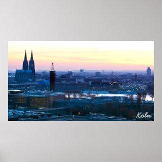 ケルン、ドイツ ポスター