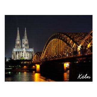ケルン、ドイツ ポストカード
