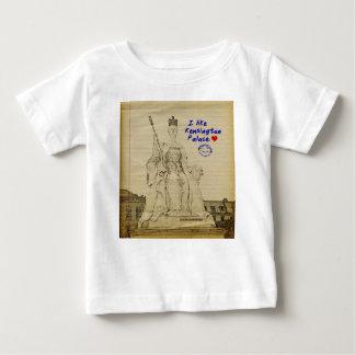 ケンジントン宮殿の子供のスケッチ ベビーTシャツ