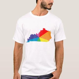 ケンタッキーのプライド。 斜め Tシャツ