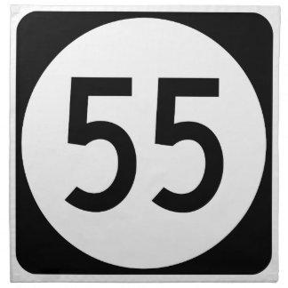 ケンタッキーのルート55 ナプキンクロス