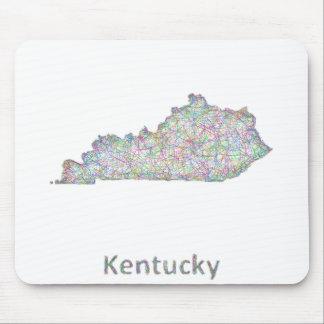 ケンタッキーの地図 マウスパッド