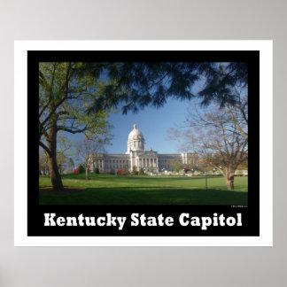ケンタッキーの州の国会議事堂ポスター ポスター