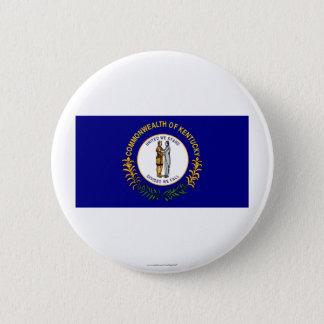 ケンタッキーの州の旗 缶バッジ