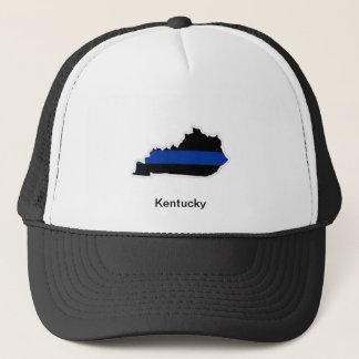 ケンタッキーの薄いブルーライントラック運転手の帽子 キャップ