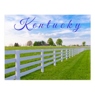 ケンタッキーの郵便はがき。 田舎景色 ポストカード