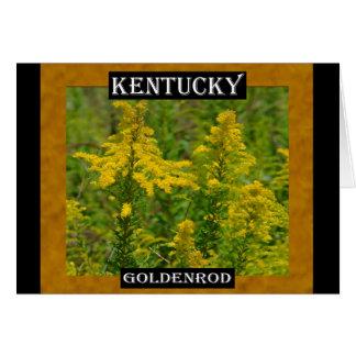 ケンタッキーのGoldenrod カード