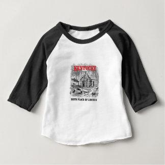 ケンタッキーLincolnsの出生地 ベビーTシャツ