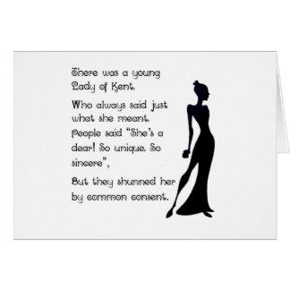 ケントの女性 カード