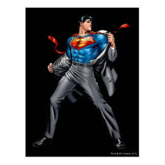 ケントはスーパーマンに変わります 葉書き