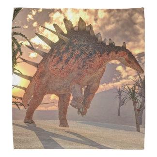 ケントロサウルスの恐竜- 3Dは描写します バンダナ