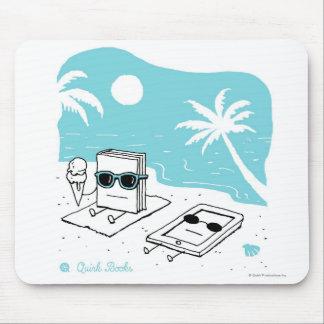 ケンドール及びPaige -ビーチ マウスパッド