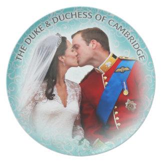 ケンブリッジのプレートの公爵及び公爵夫人 プレート