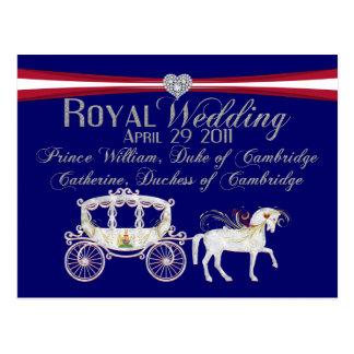 ケンブリッジPostcaの王室のな結婚式公爵そして公爵夫人 ポストカード