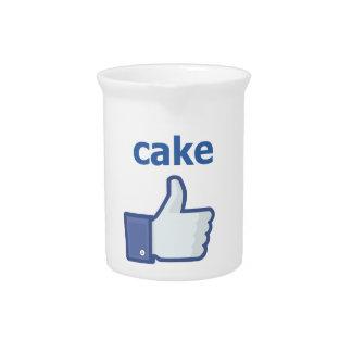 ケーキのように ピッチャー