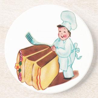 ケーキのコースターを食べよう コースター