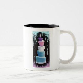 ケーキのマグ ツートーンマグカップ