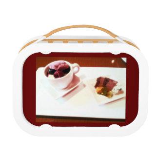 ケーキの一定のイメージのお弁当箱のパート1 ランチボックス