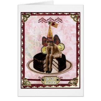 ケーキの妖精 カード