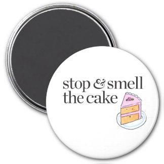 ケーキをストップ及びかいで下さい マグネット