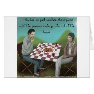 ケージャンのチェスのおもしろいな漫画 カード